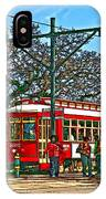 New Orleans Streetcar Painted IPhone Case