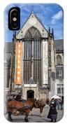 Nieuwe Kerk In Amsterdam IPhone Case