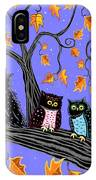 Night Owls IPhone Case