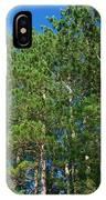 North Woods Tree Line IPhone Case
