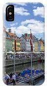 Nyhavn - Copenhagen Denmark IPhone Case