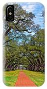 Oak Alley 3 IPhone Case