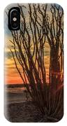 Ocotillo Sunset IPhone Case