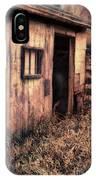 Old Barn Door IPhone Case