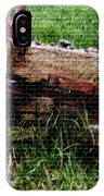 Old Farm Implement H B IPhone Case