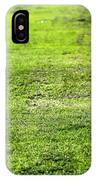 Old Green Grass IPhone Case