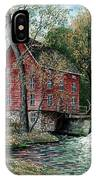 Old Time Mill IPhone Case