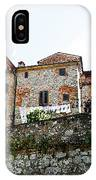 Old Towns Of Tuscany San Gimignano Italy IPhone Case