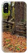 Old Wooden Fence IPhone Case