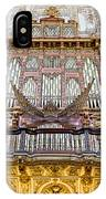 Organ In Cordoba Cathedral IPhone Case