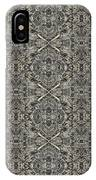 Ornament Engraved On Metal Surface IPhone Case