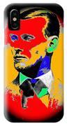 Outlaw Gang Leader Train Bank Robber Murderer Jesse James Collage 1875-2009 IPhone Case