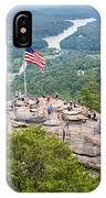 Overlooking Chimney Rock And Lake Lure IPhone Case