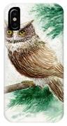 Owl Study IPhone Case