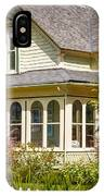 Oysterville House 6 IPhone Case