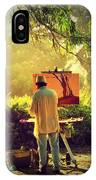Within The Painting IPhone Case