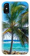 Palm Trees And Sea IPhone Case
