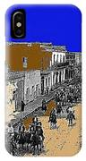 Pancho Villa Captures Juarez Chihuahua May 8 1911 Color Added 2012 IPhone Case