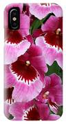 Pansy Orchid 1 IPhone Case