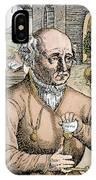 Paracelsus (1493-1541) IPhone Case