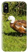 Female Paradise Duck IPhone Case