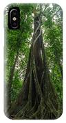 Parasite Consuming A Tree IPhone Case