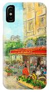Paris Cafe IPhone Case