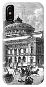Paris Opera House, 1875 IPhone Case