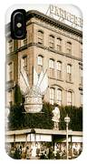Parker Bridget And Company Department Store - Washington Dc 1921 IPhone Case
