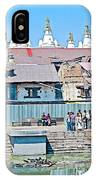Pasupatinath Temple Of Cremation Complex In Kathmandu-nepal- IPhone Case