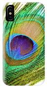 Peacock Feather IPhone X Case