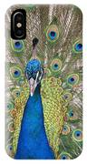 Peacock Full Plumage IPhone Case