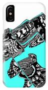 Penguin In The North Pole 7 IPhone Case