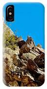 Peninsular Bighorn Sheep From Borrego Palm Canyon Trail In Anza-borrego Desert Sp-ca IPhone Case