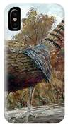 Pheasant On Fence IPhone Case