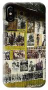 Photos Mexican Revolution Street Photographer's Shed Nogales Sonora Mexico 2003 IPhone Case