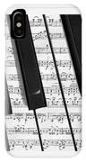 Pianoforte IPhone Case