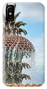 Pineapple Fountain IPhone Case