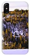 Pines On The Ridge  IPhone Case by Sherri Meyer