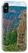 Point Imperial At 8803 Feet On North Rim Of Grand Canyon National Park-arizona   IPhone Case