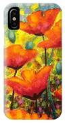 Poppy Corner IPhone Case