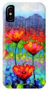 Poppy Vista IPhone Case