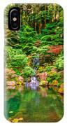 Portland Japanese Garden IPhone Case