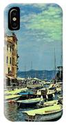 Portofino Harbor IPhone Case