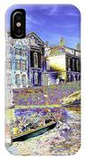 Psychedelic Bruges Canal Scene IPhone Case