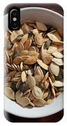 Pumpkin Seeds IPhone Case