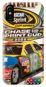 Race For The Cup 2008 IPhone Case