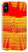 Radial Sunset IPhone Case