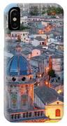 Ragusa At Dusk, Sicily, Italy IPhone X Case
