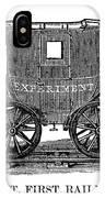 Railroad Passenger Car IPhone Case